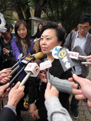 鄭汝樺表示,港深前海西部快速軌道已進入規劃階段