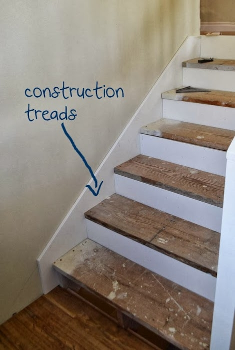 Step By Step To Finishing Steps Ana White | Painted And Stained Stairs | Easy Diy | Two Tone | Espresso Stained | Pinterest | Home
