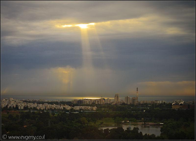 Фото: Тель Авив - Луч солнца золотого 2