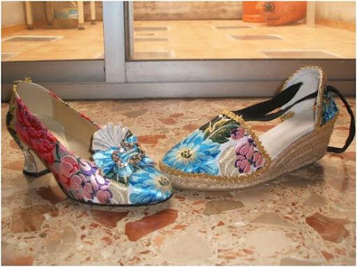 Zapatos y Zapatillas Decoradas