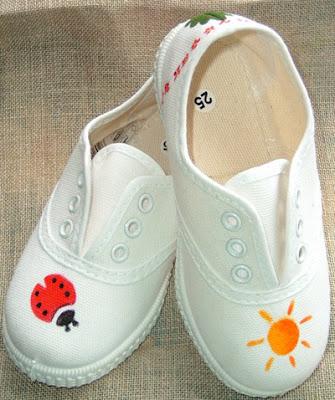 tres ideas para decorar las zapatillas