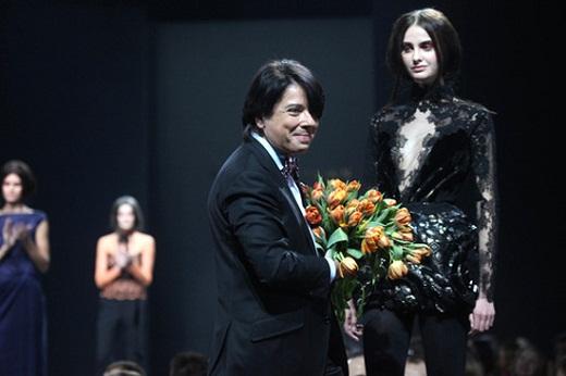 Валентин Юдашкин открыл 25 юбилейный сезон Volvo Fashion Week в Москве.