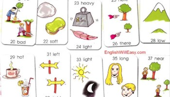 Vocabulary list by Opposites (or Antonyms) - Online