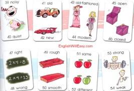 opposites 3 Opposites Words dictionary children