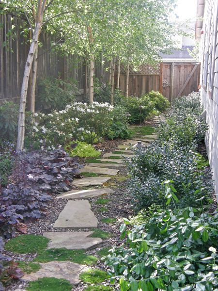 Landscaping Ideas For Long Narrow Backyard | Obsidiansmaze on Narrow Backyard Landscaping Ideas  id=45541