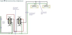 3 Way Switch Wiring Diagram Multiple Lights  Diagram Stream