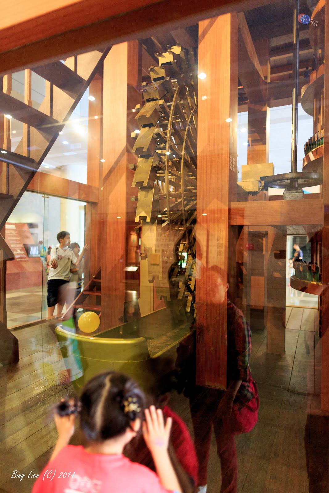 甯甯拔拔的影誌 (Bing's Blog): 2014 公司旅遊: 臺中一日遊 (3) 國立自然科學博物館: 人類文化廳