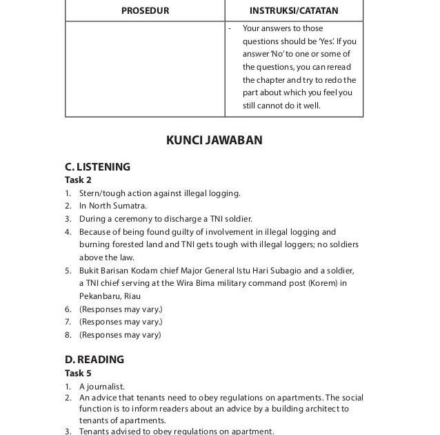 3 dan 4 n=k d. Soal Bahasa Inggris Peminatan Kelas 12 Semester 1 Dan
