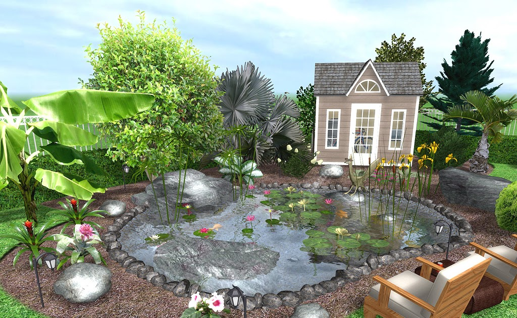 Secret Landscaping: Pools and landscaping ideas grassless ... on Grassless Garden Ideas  id=85127
