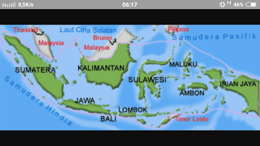 Masukkan gambar ke slide dengan cara: Gambar Peta Indonesia Gampang