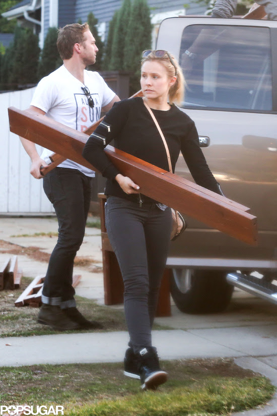 The Life Of Is Kristen Bell Buying Furniture Off Of