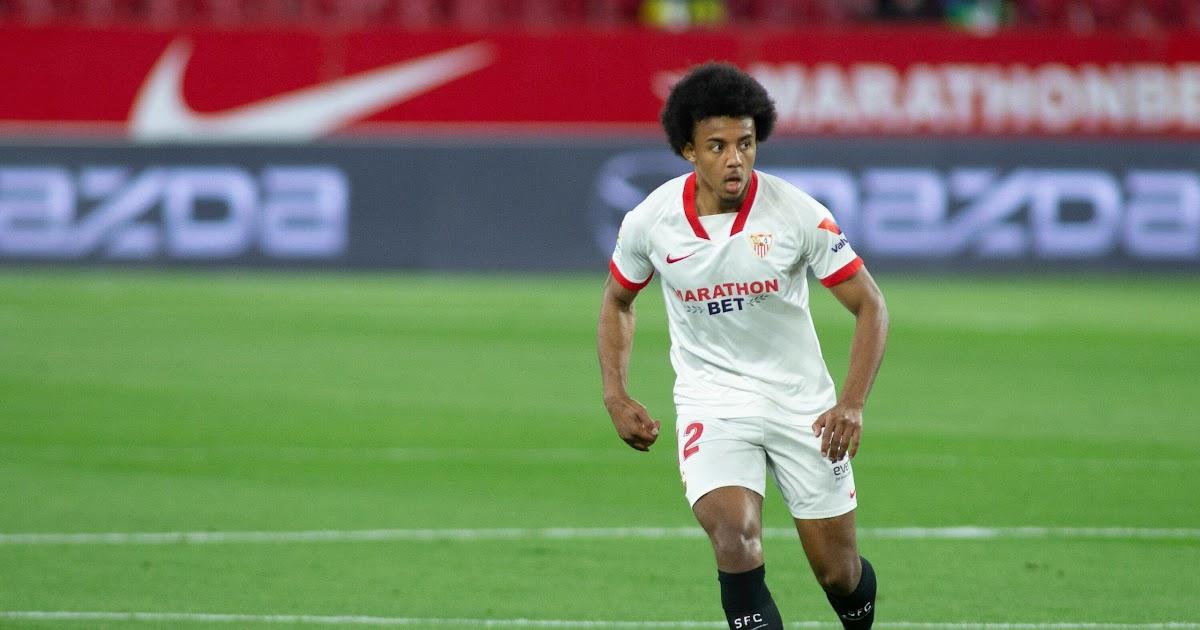 Jules olivier koundé (lahir 12 november 1998) adalah pesepakbola profesional prancis yang bermain sebagai bek tengah untuk klub la liga, sevilla fc dan. Jules Koundé / Europa League Final Sevilla S Kounde Ready ...