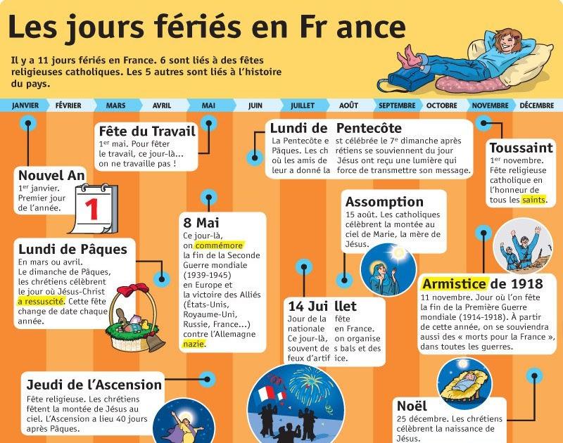 Franais Jours Fris En France