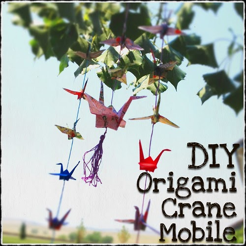 Making A Tasseled Origami Crane Mobile Art Tutorial
