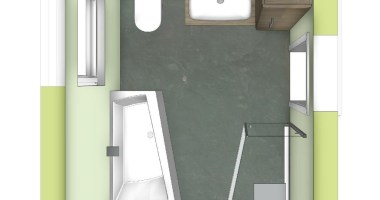 Badezimmer Mit Schrage Einrichten   coffeebooksblogging