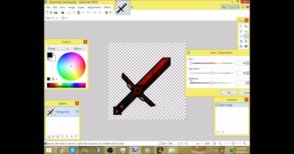 How To Change Text Color In Paint Net - Visual Motley