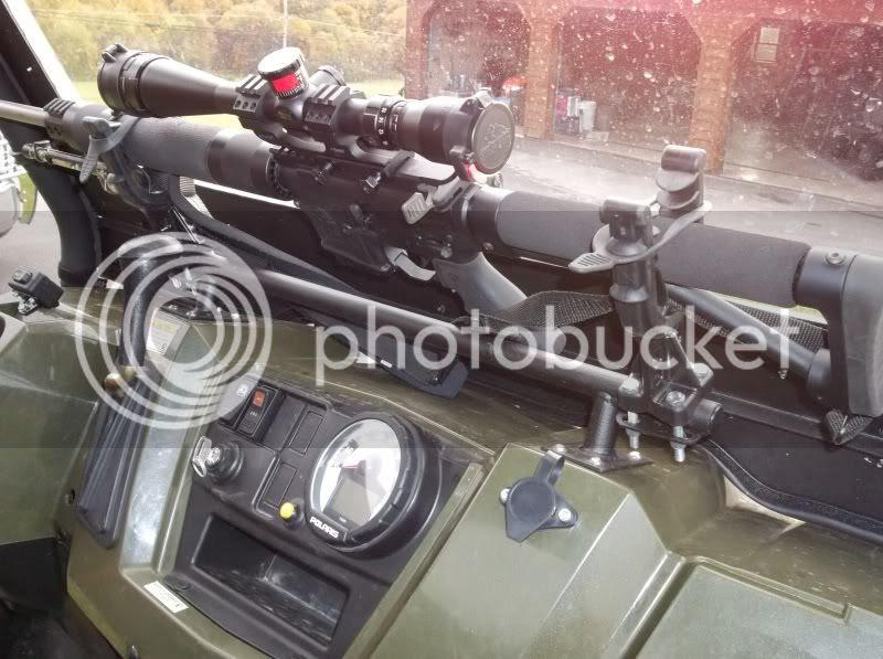 polaris ranger gun rack change comin
