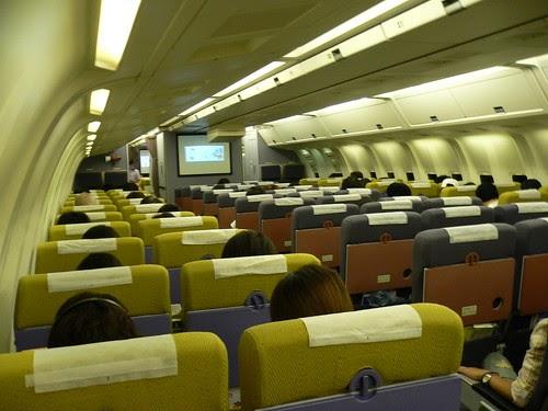Airtravel Photos Ana B767 300 Economy Seats