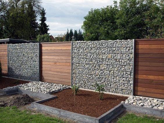 smart idea backyard fence cover ideas