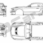 Ford Mustang Gt Blueprint Ford Mustang 2019