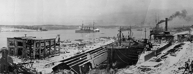 Explosion Halifax decembre 1917
