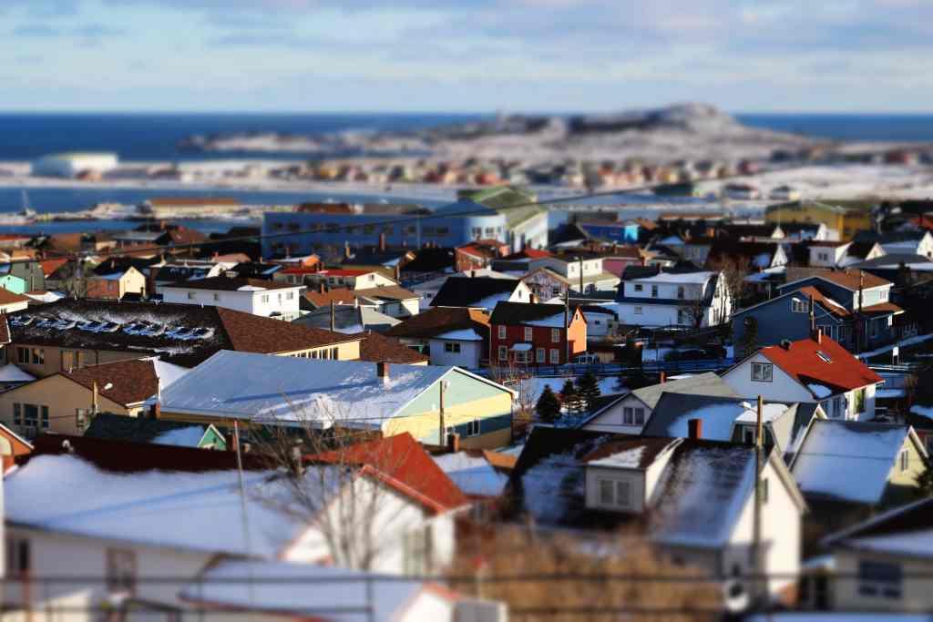 Saint-Pierre en hiver