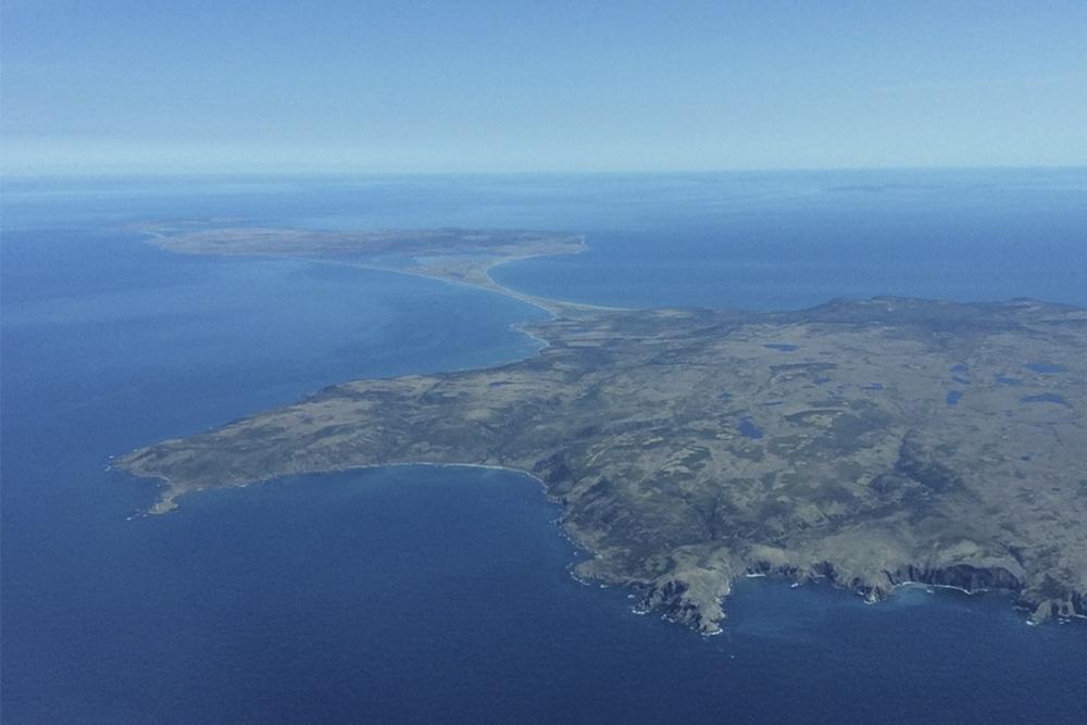 Vue aérienne Voyage à Saint-Pierre et Miquelon