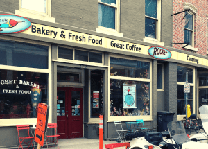 the rocket bakery and fresh food