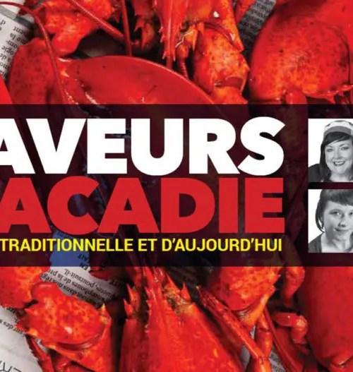 couverture livre saveurs d'acadie
