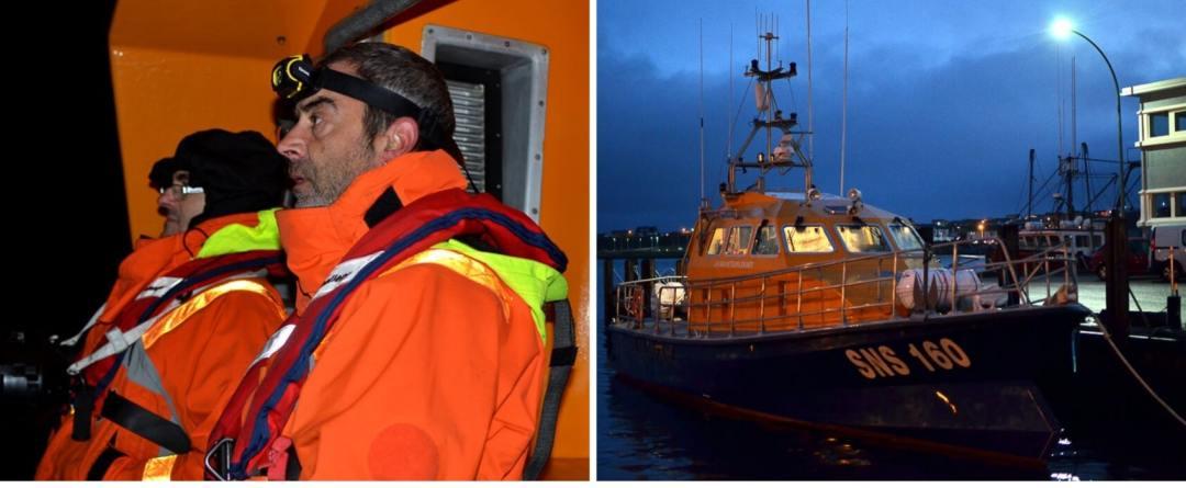 SNSM Saint-Pierre et Miquelon sortie nocturne