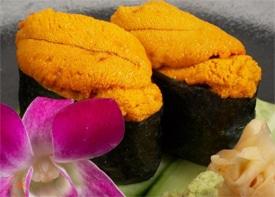 sushi d'oursin Saint-Pierre et Miquelon