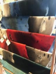 Les peaux de phoques des magasins Colemans crédit photo : HDE