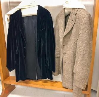 Velours ou tweed, on saisit bien la haute stature d'Alexander Graham-Bell crédit photo HDE