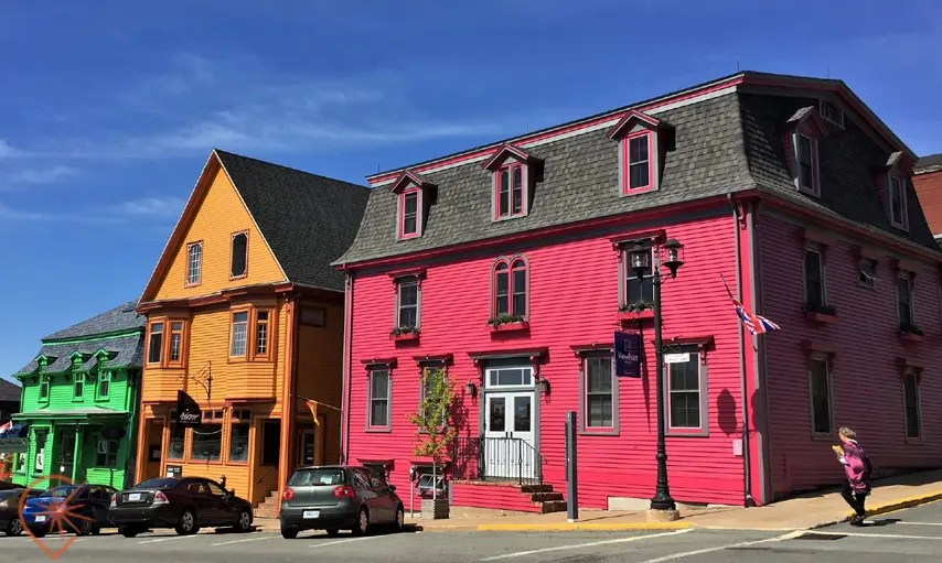 Maisons colorées de Lunenburg