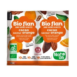 Bioflan non sucré cacao orange – Nature & Aliments