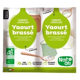 Ferment Yaourt brassé 2 g – Nature & Aliments