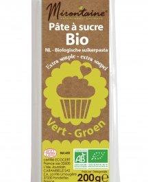 Pâte à sucre BIO verte 200 g