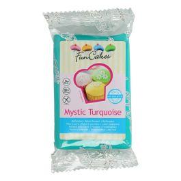 Pâte à sucre turquoise 250g