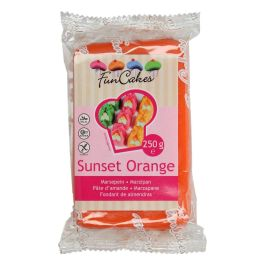 Pâte d'amandes orange 250gr
