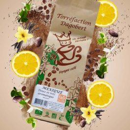 Café grains Mexique 100% arabica bio et équitable 250gr