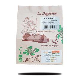 Dagosette Pérou 100% arabica bio x24