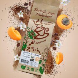 Café grains Moka Sidamo 100% arabica bio et équitable 250gr