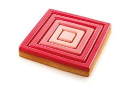 Carré perforé à tarte composite 20 cm – Silikomart