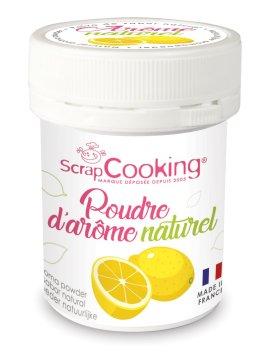 Pot de poudre d'arôme naturel citron – ScrapCooking