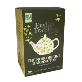 20 sachets Thé noir origine Harrington – English Tea Shop