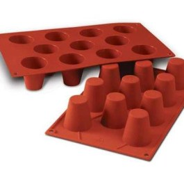 Moule silicone 11 babas Ø45 H 48 SF020