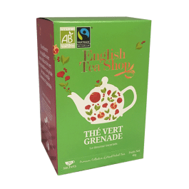 Thé vert greande 20 sachets plats – English Tea Shop