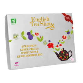 Coffret sélection Super-fruits d'infusions et de rooibos bio