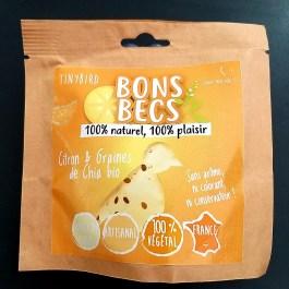 Bonsbecs Citron & graines de chia bio