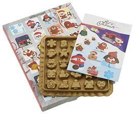 Kit calendrier de l'avent avec moule à chocolats en silicone – Silikomart